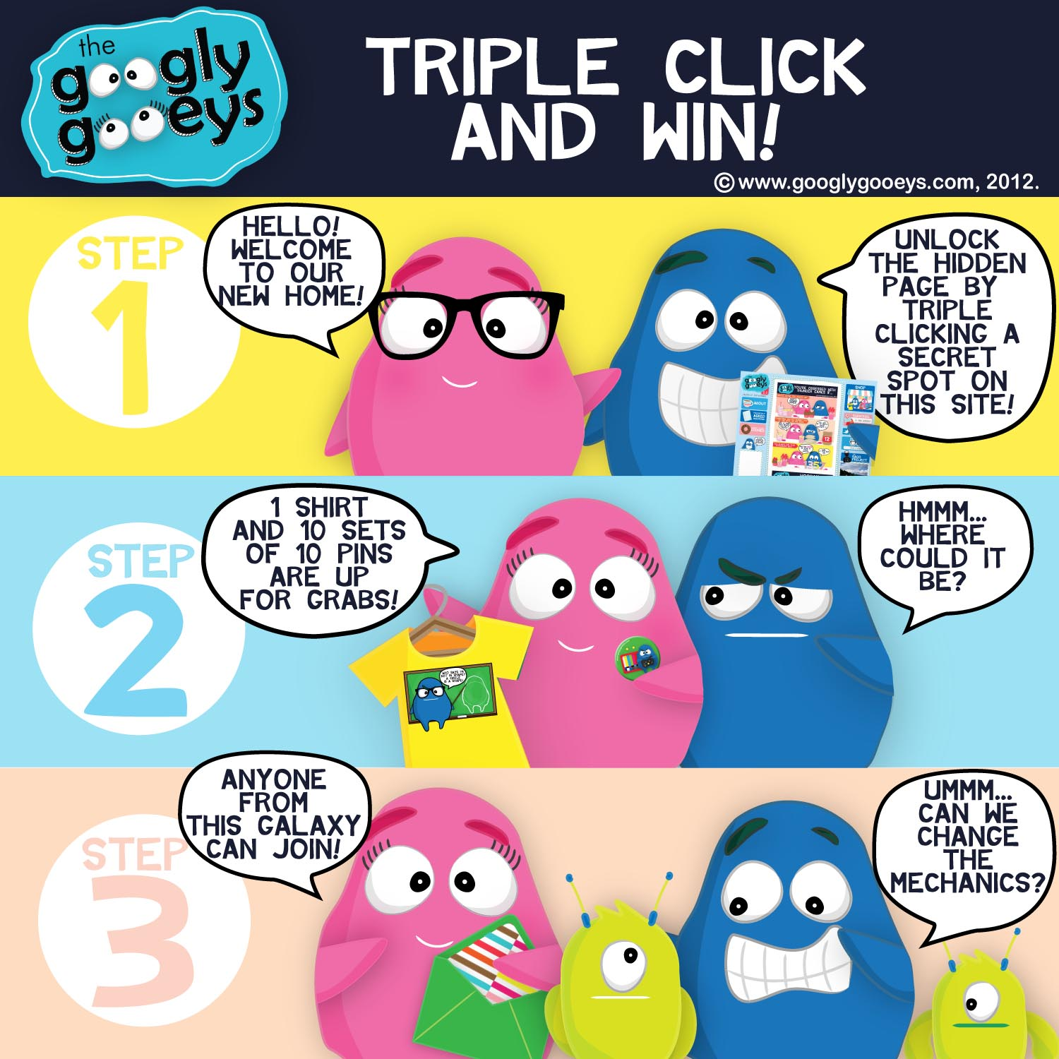 Triple Click & Win!