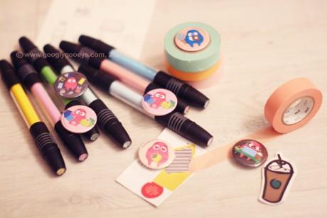 Googly Gooeys Pins & Markers
