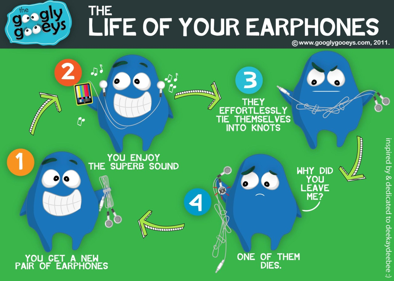 The Life of Your Earphones