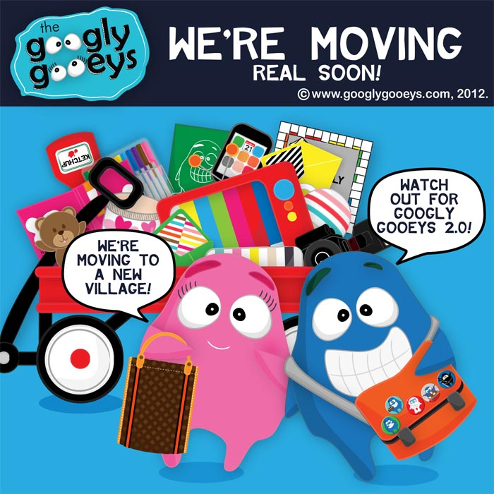 Watch out for googlygooeys.com 2.0! :)) We're moving to a new place real soon.