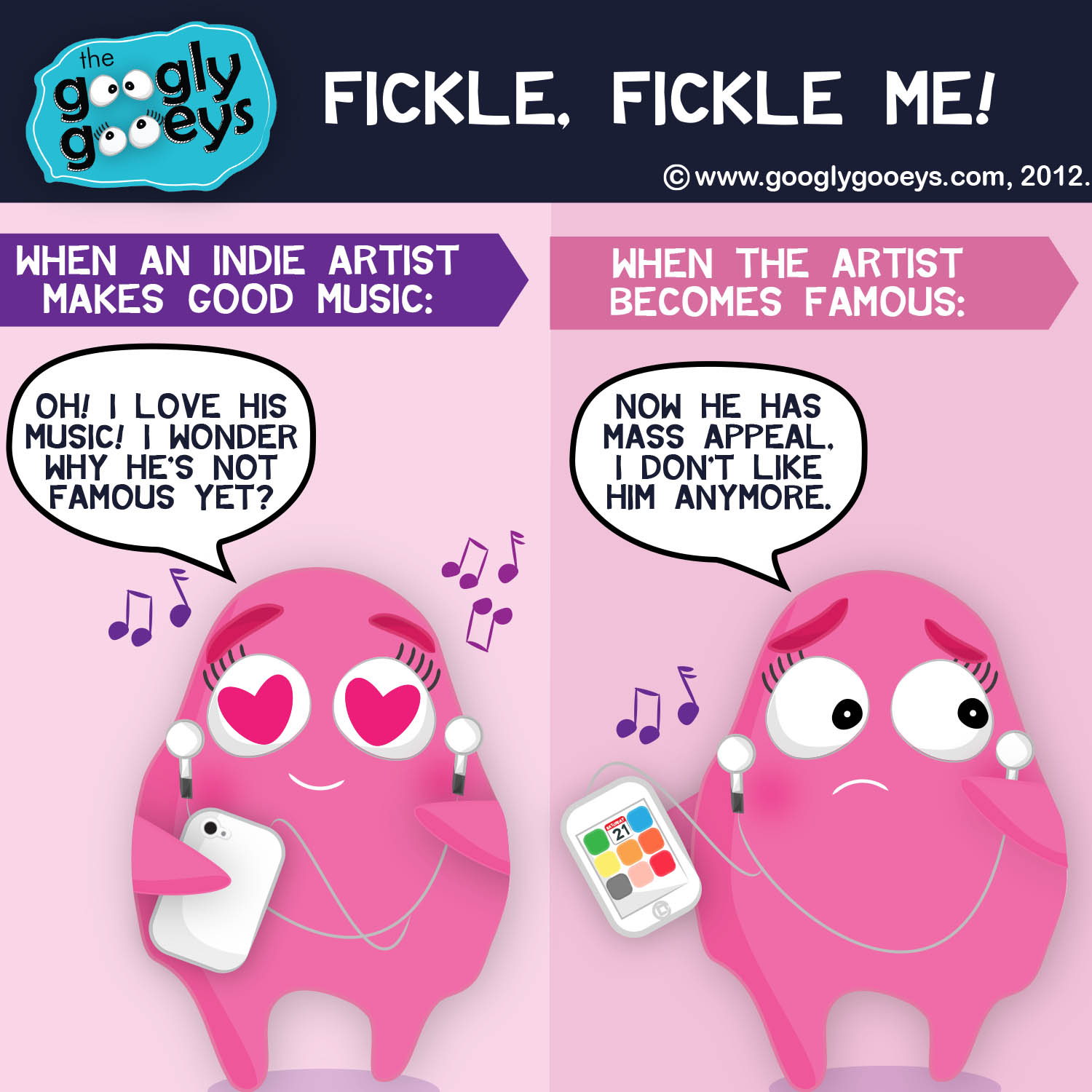 Hipster Problems: Oh, fickle fickle me!