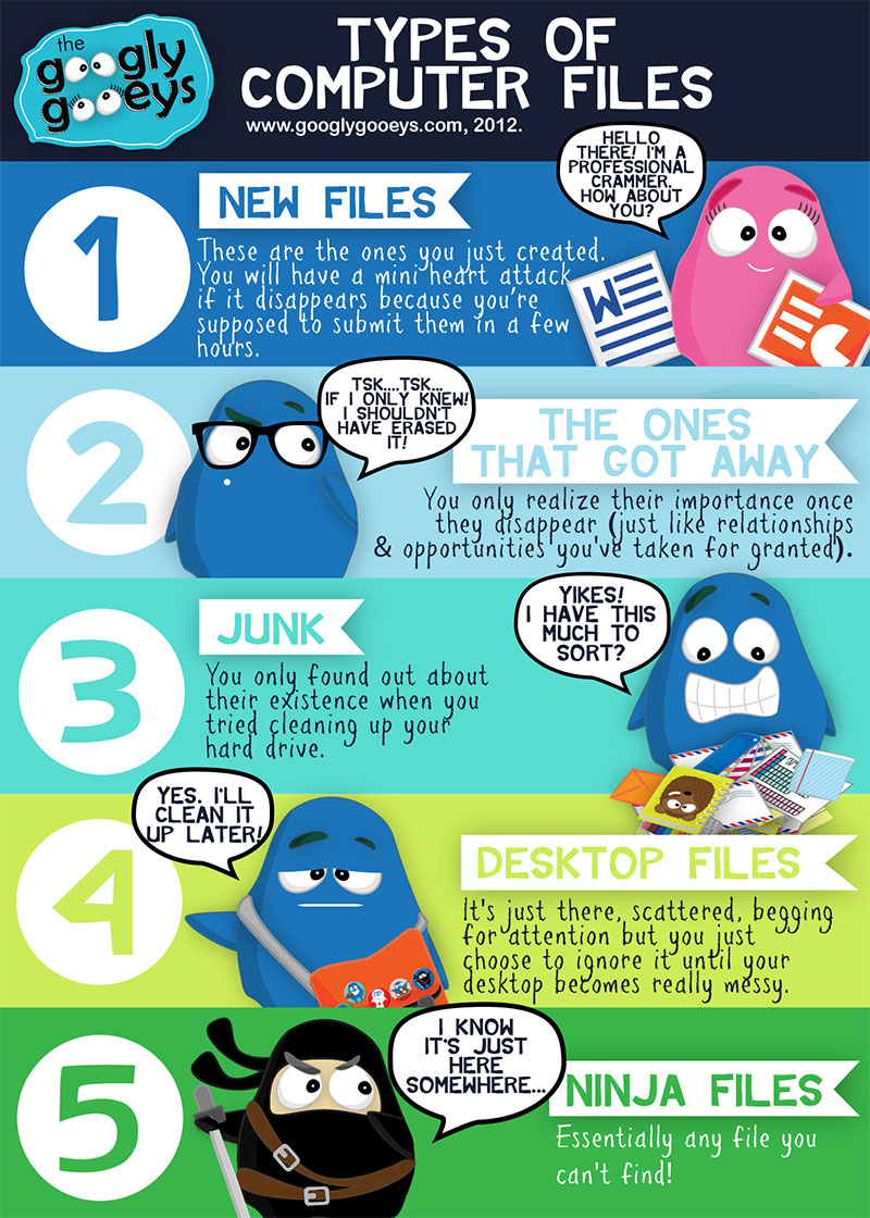 Computer File Types: Ninja Files & More!