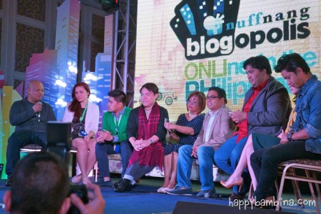 Blogopolis Panel with Bloggers: Abe Olandres, Tippy Go, Anthony Go, Mic Sy Lim, Noemi Lardizabal-Dado, Ivan Henares, Carlo Ople, Christine Dychiao, David Guison