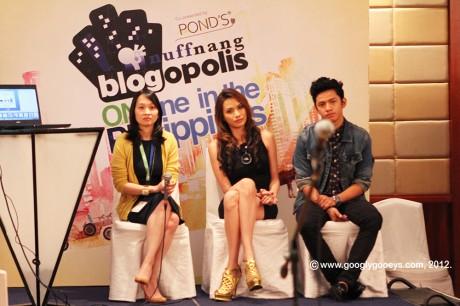 Blogopolis Panel of Fashion Bloggers: Christine Dychiao, Divine Lee & David Guison