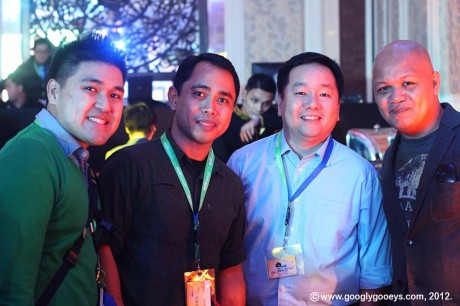 Nuffnang Blogopolis: Anthony Go, Allan Barredo, Richard Co, Abe Olandres