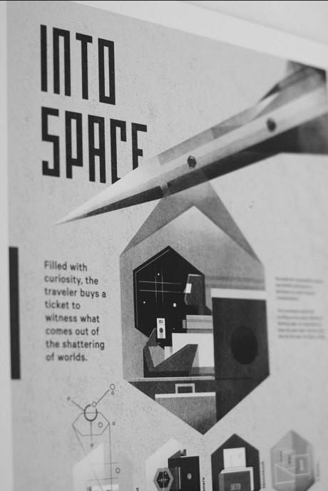 Dan Matutina's Into Space Leaflet