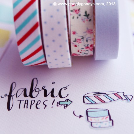 Googly Gooeys Blog Giveaway Fabric Tapes