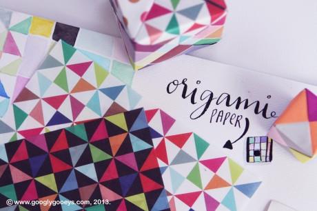 Googly Gooeys Blog Giveaway: Orgami Paper