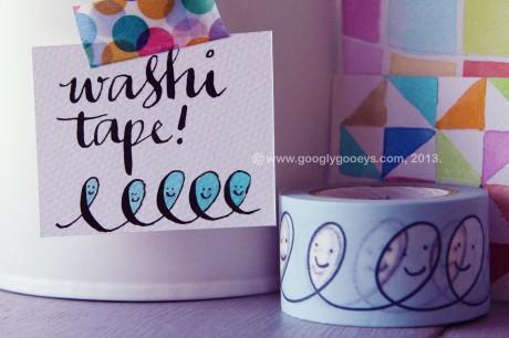 Googly Gooeys Blog Giveaway Washi Tape