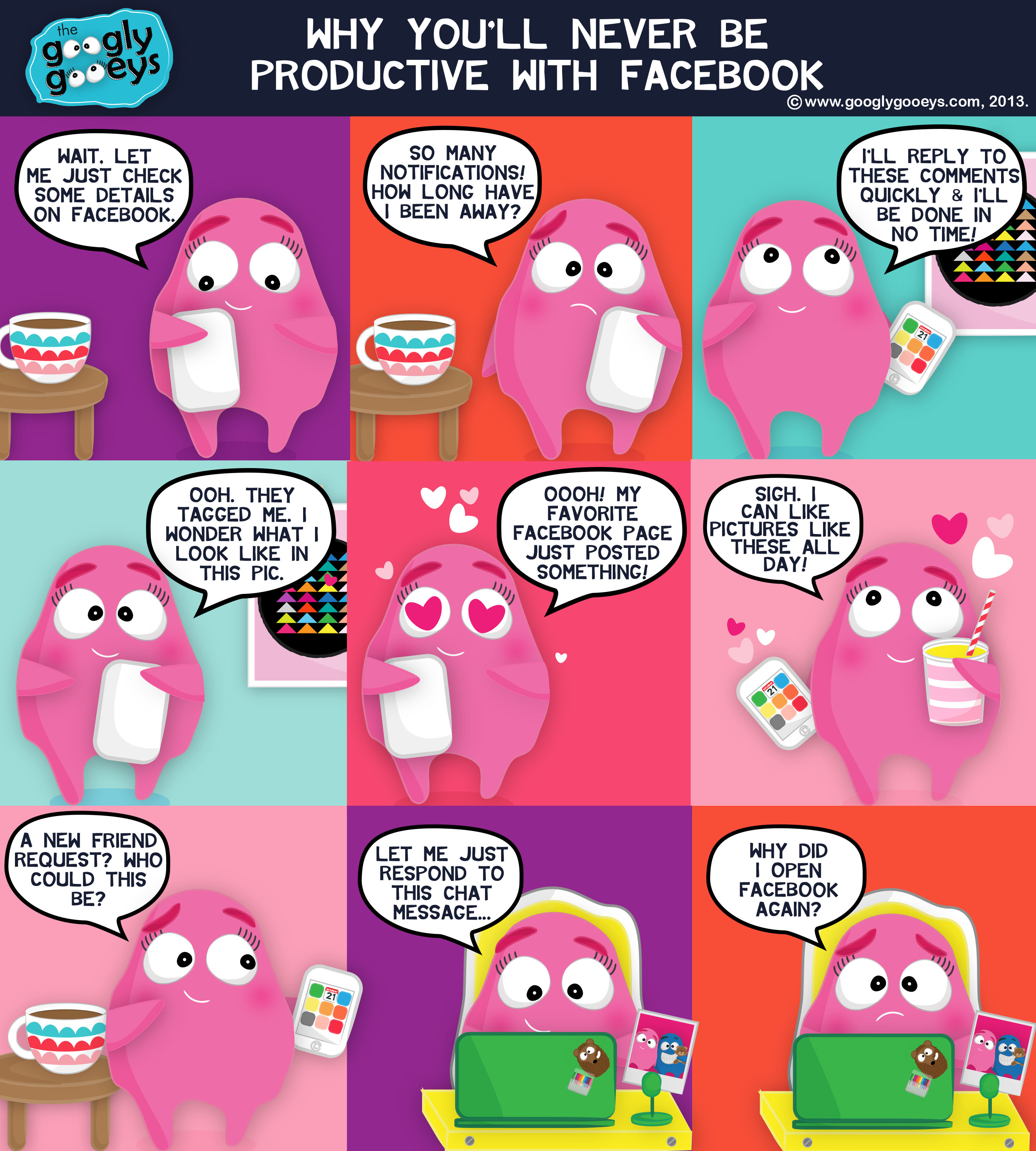 Trying to be Productive with Facebook & Our ANC Shoptalk Guesting