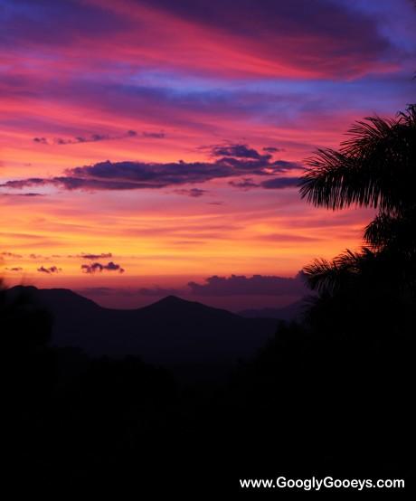 Sunset in Caleruega