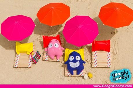 Tipsy & Ponggo Sunbathing in Boracay