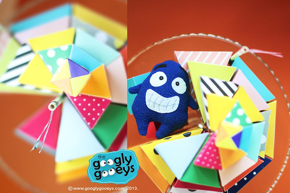 Happy 4th Birthday to the Googly Gooeys! :)