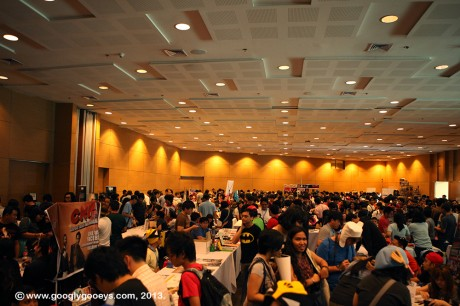 Summer Komikon Main Hall Audience