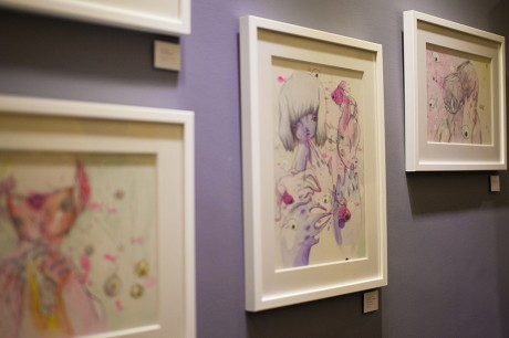 Artworks by Celina de Guzman, Cold Milk Culprits, Heima Brixton
