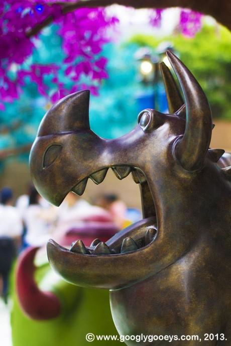 Monsters University Hong Kong Gargoyle
