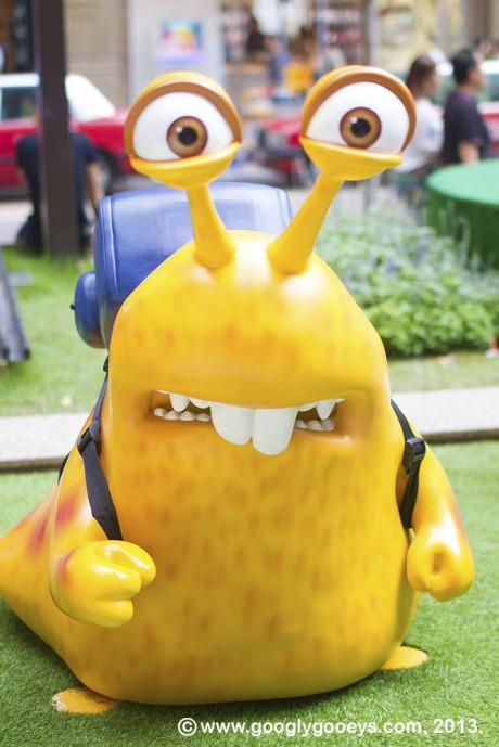 Monsters University Hong Kong Slug