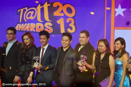 Tatt Awards 2013 Divine Lee David Guison Vince Golangco Tony Anh May Ilagan