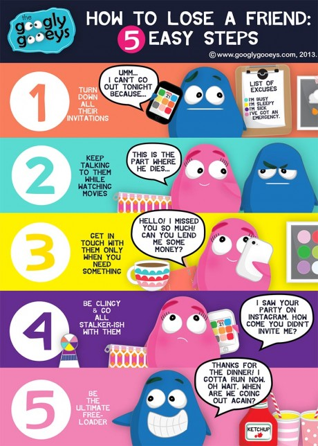 Googly Gooeys How to Lose a Friend in 5 Steps