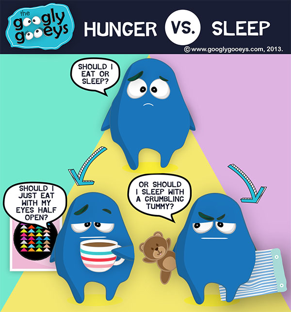 Eat Versus Sleep