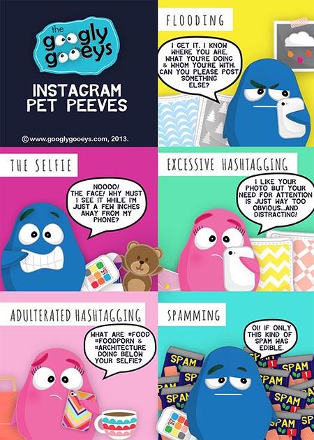 Googly Gooeys Instagram Pet Peeves