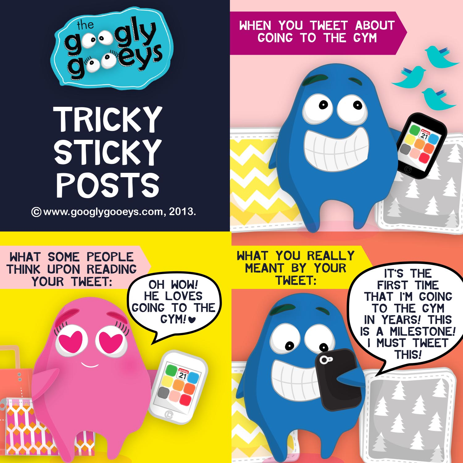 Tricky Sticky Posts: Twitter Versus Real Life