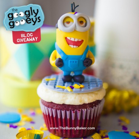 Bunny Baker Cute Minion Cupcake x Googly Gooeys Blog Giveaway