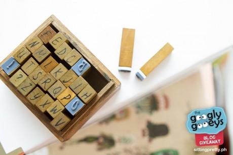 Sitting Pretty Alphabet Stamps