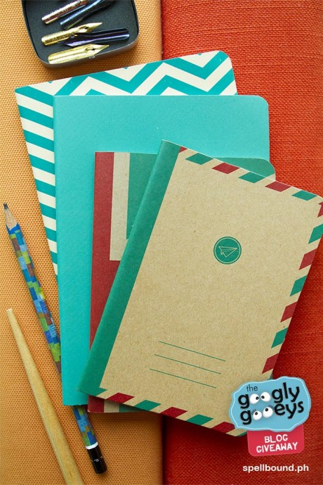 British Flag Mailman & Chevron notebooks by Spellbound