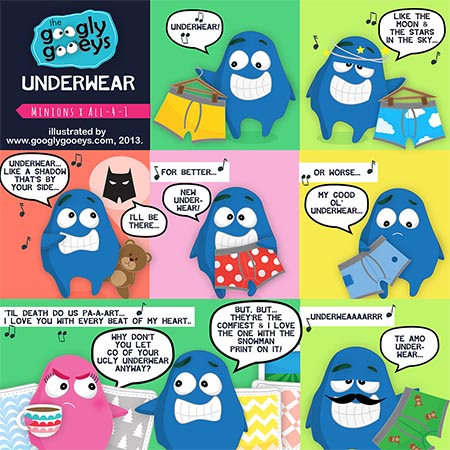 I Swear Underwear : The Minions x All-4-1 Mashup