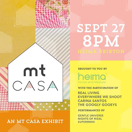 MT Casa Washi Tape Exhibit at Heima