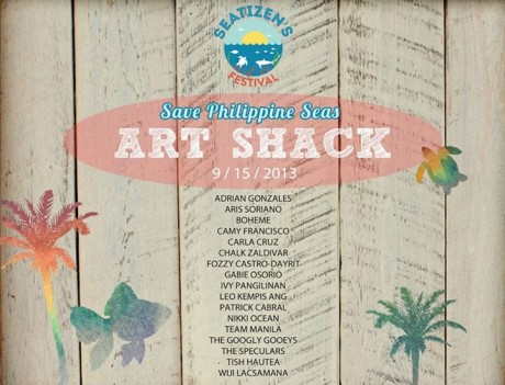 Save the Philippine Seas Art Shack
