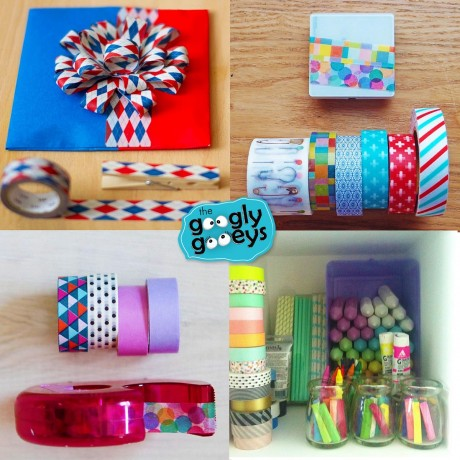 Things You Can Do With Washi Tape Googly Gooeys