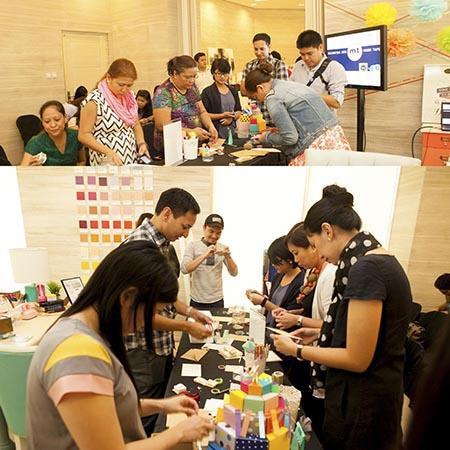 Real Living Washi Workshop Participants