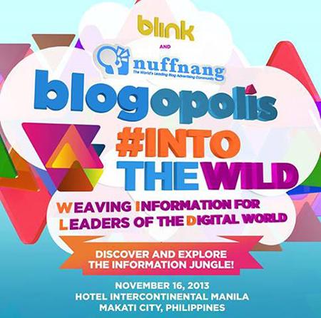 Blogopolis 2013 Into The Wild