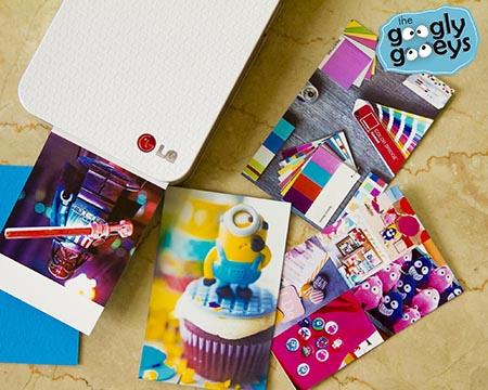 LG Pocket Photo Printer Print-Outs