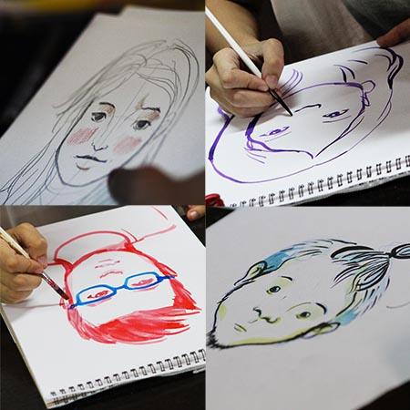 Ilustrador ng Kabataan Portrait Sessions