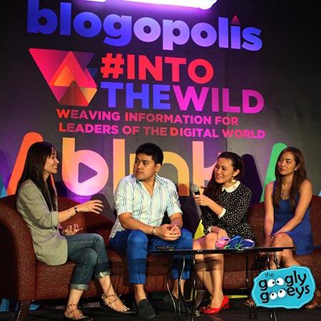Blogopolis Panel with Christine Dychiao, Anthony & Tippy Go Jackie Go