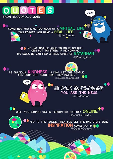 Blogopolis 2013 Quotes