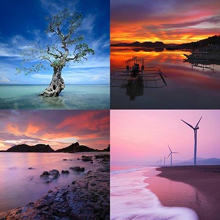 Images of Hope Philippine Landscape Coron, Siquijor, Ilocos, Capones