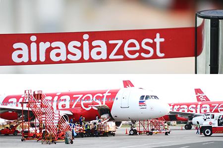 Air Asia Zest Manila Terminal 4