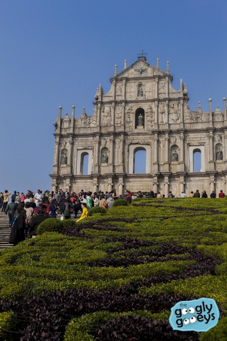 Macau St. Paul's Ruins