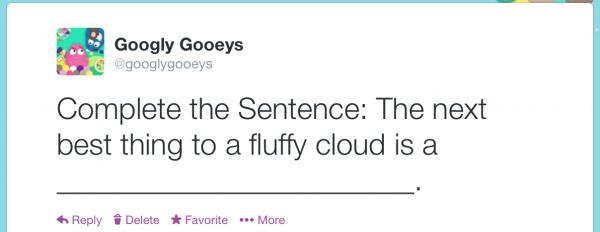 Twitter Survey by the Googly Gooeys