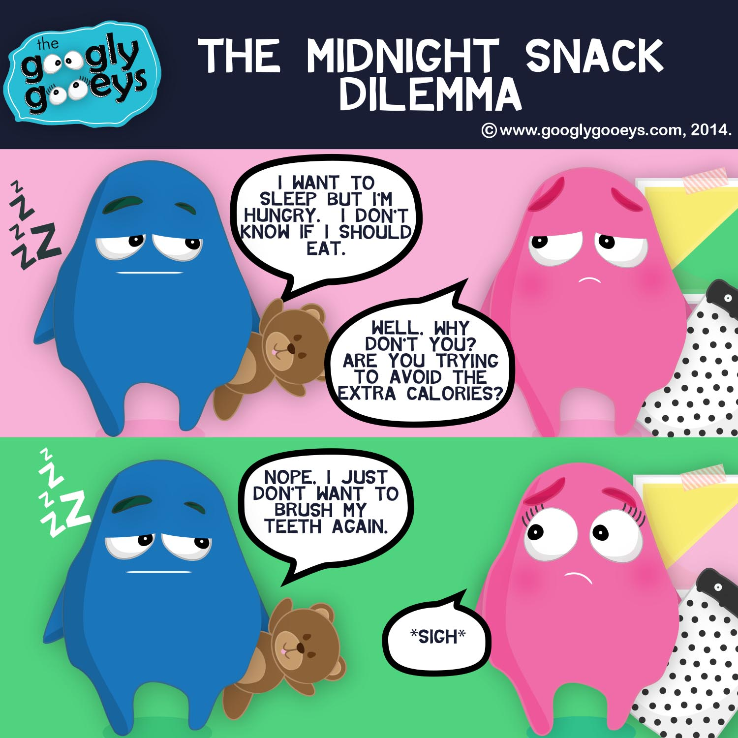Midnight Snack Dilemma & Some Happy Discoveries