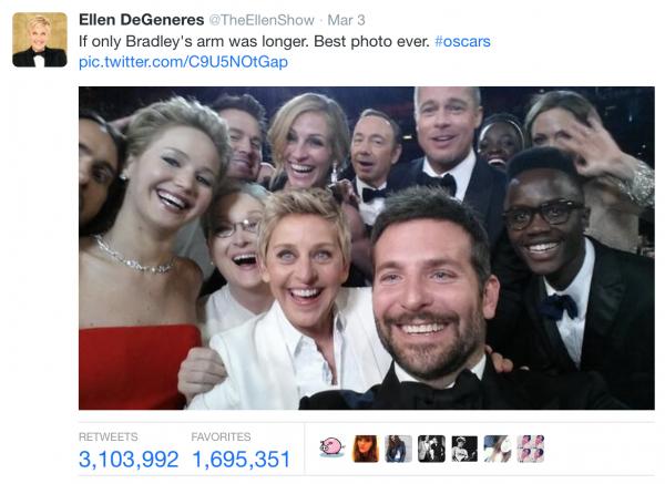 Oscars Group Selfie