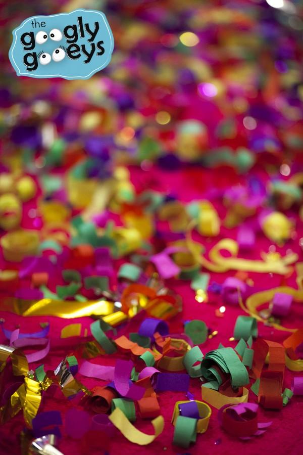BGC Baskin Robbins Opening Confetti