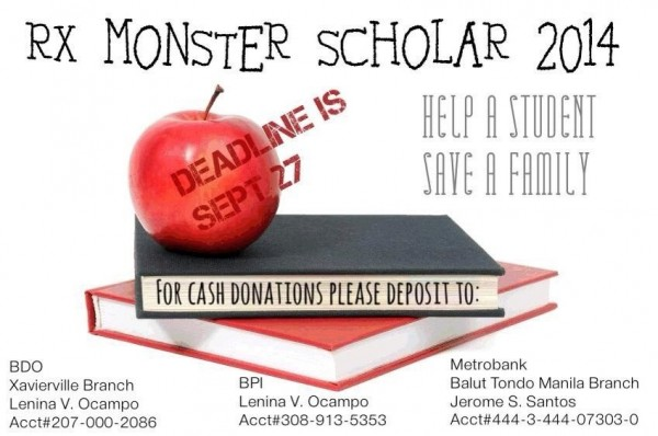Donate RX Monster Scholar