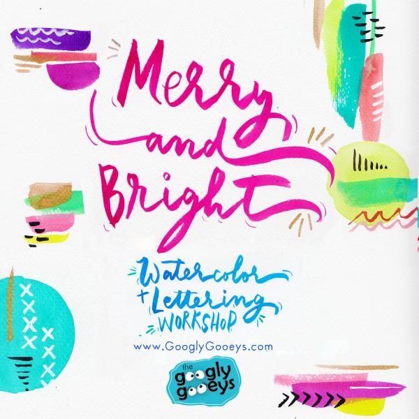 Watercolor & Brush Lettering Workshop Manila