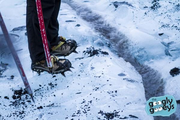 Crampons Glacier Walk Iceland