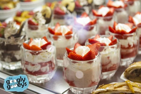 Florentine Dessert Strawberries & Cream